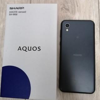 シャープ(SHARP)のAQUOS sense2 SH-M08 SIMフリー 美品✨(スマートフォン本体)