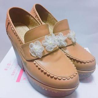 リズリサ(LIZ LISA)のLIZLISA お花 ローファー(ローファー/革靴)