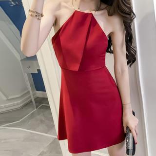 エミリアウィズ(EmiriaWiz)のネックリングワンピース キャバ ブライダル ドレス(ナイトドレス)