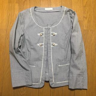 エニィスィス(anySiS)のanysis ナポレオン ノーカラージャケット(ノーカラージャケット)