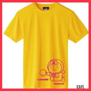 新品 未使用  DONIC  ドラえもん 卓球Tシャツ  LLサイズ  卓球(卓球)
