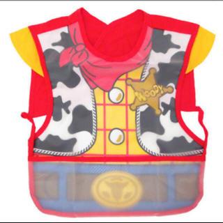 Disney - 新品! お食事エプロン ウッディー トイストーリー 出産祝 スタイ 離乳食