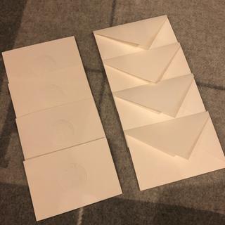 エルメス(Hermes)の*美品HERMES メッセージカード4セット*(カード/レター/ラッピング)