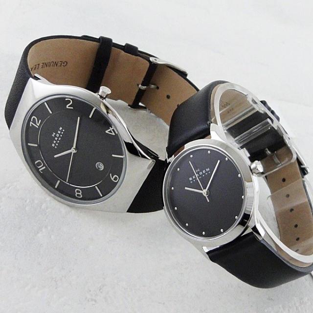 new arrival 45083 fcb5f 新品 スカーゲン ペアウォッチ 腕時計 | フリマアプリ ラクマ
