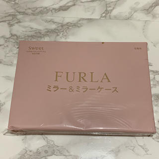 フルラ(Furla)のsweet付録 FURLA ミラー&ミラーケース(ミラー)