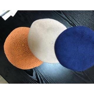 ロイヤルパーティー(ROYAL PARTY)の夏用ベレー帽3点セット(ハンチング/ベレー帽)