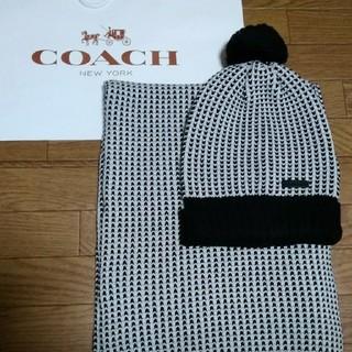 コーチ(COACH)のCOACH(ニット帽/ビーニー)
