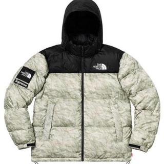 Supreme - Supreme tnf paper print nuptse jacket  M