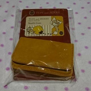 タリーズコーヒー(TULLY'S COFFEE)のTULLY'S トムとジェリー カードケース(名刺入れ/定期入れ)