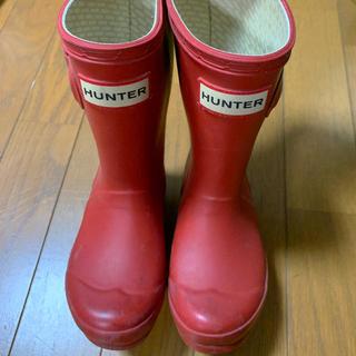 ハンター(HUNTER)のハンター レインブーツ  子供 UK9(長靴/レインシューズ)