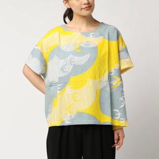 チャイハネ(チャイハネ)のタグ付新品 BARNDOOR 2WAYプルオーバー 半袖シャツ インド(シャツ/ブラウス(半袖/袖なし))