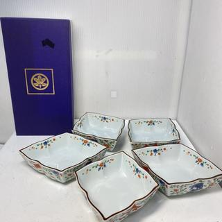 R35173 たち吉 魚藻文 小鉢 5枚セット(食器)