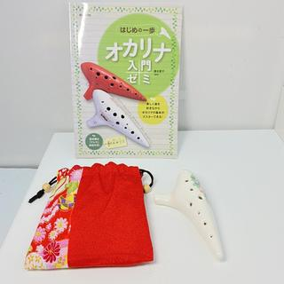 R34262 オカリナ メーカー不明 入門ゼミ本付き ディスプレイ用(その他)