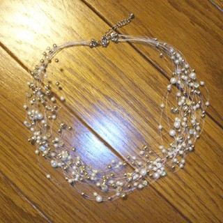 タカシマヤ(髙島屋)の美品🌟パール調ネックレス(ネックレス)