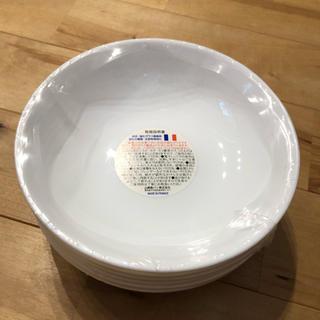 ヤマザキセイパン(山崎製パン)のヤマザキ  白いお皿 6枚セット 未使用品(食器)