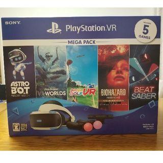 プレイステーションヴィーアール(PlayStation VR)のPlayStation VR MEGA PACK CUHJ-16010(家庭用ゲーム機本体)