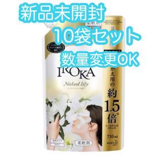 カオウ(花王)の【新品】フレア フレグランス IROKA ネイキッドリリーの香り 詰替大 15袋(洗剤/柔軟剤)