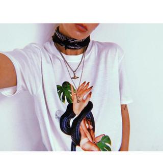 アディッションアデライデ(ADDITION ADELAIDE)の新品 LINZIE ELLIOTT alchemist アルケミスト Tシャツ(Tシャツ(半袖/袖なし))