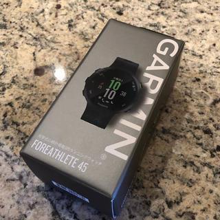 ガーミン(GARMIN)の【お取置き 太陽の塔様】GARMIN ForeAthlete 45 ブラック(腕時計(デジタル))