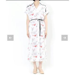 マメ(mame)のmame kurogouchi マメクロゴウチ perfume着用 ワンピース (ロングワンピース/マキシワンピース)