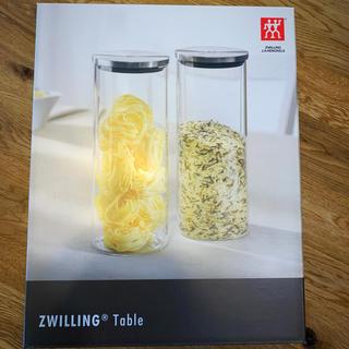 ツヴィリングジェイエーヘンケルス(Zwilling J.A. Henckels)のZWILLING キャニスター2個セット(収納/キッチン雑貨)
