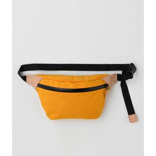 エンフォルド(ENFOLD)のナゴンスタンス ナイロンオックスベルトバッグ 新品未使用 イエロー(ボディバッグ/ウエストポーチ)