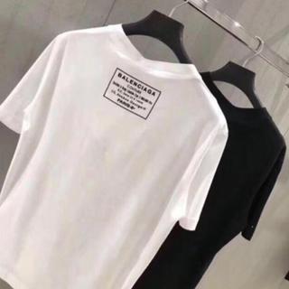バレンシアガ(Balenciaga)の正規店購入 バレンシアガ 19SS☆未使用品☆ 半袖 ロゴTシャツ ホワイト S(Tシャツ(半袖/袖なし))