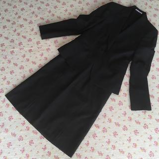 アオヤマ(青山)のレミュー スカートスーツ S W70 OL 洗濯 ビジネス 通勤(スーツ)