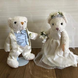 テディベアのウエディングドール 結婚式(ウェルカムボード)