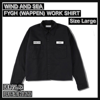 シー(SEA)の【L】FYGH (WAPPEN) WORK SHIRT(シャツ)