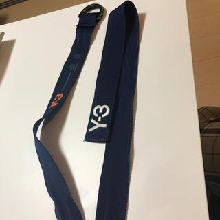 Y-3 - Y-3 紺色 ベルト