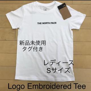 ザノースフェイス(THE NORTH FACE)の【新品未使用】ノースフェース Logo Embroidered Teeレディース(Tシャツ(半袖/袖なし))