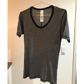 アタッチメント(ATTACHIMENT)のアタッチメント 半袖 ボーダー(Tシャツ/カットソー(半袖/袖なし))