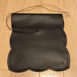 ドレステリア(DRESSTERIOR)の【お値下げしました】ebagosエバゴス iPadケース ブラック(かごバッグ/ストローバッグ)