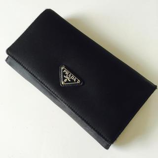 プラダ(PRADA)の極美品☆PRADA☆ナイロンがま口長財布(財布)