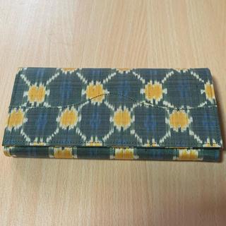 アーティザンアンコール シルク織 長財布 メンズ レディース(長財布)