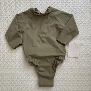 キャラメルベビー&チャイルド(Caramel baby&child )の未使用 yoli&otis 水着 5y カーキ ラッシュガード(水着)