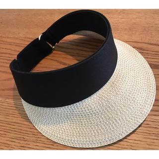 エイチアンドエム(H&M)のH&M サンバイザー 麦わら 帽子 キャップ(その他)
