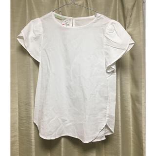 アルファキュービック(ALPHA CUBIC)のプチオンフルール 白シャツ スカート セット(ロングスカート)