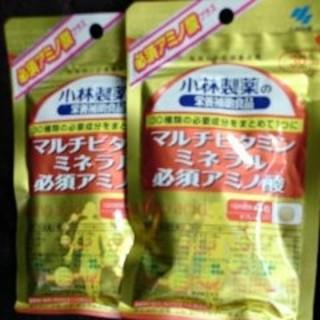 コバヤシセイヤク(小林製薬)の小林製薬/マルチビタミンミネラル必須アミノ酸 約30日分×2(ビタミン)