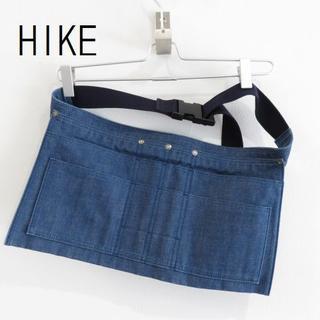 ハイク(HYKE)の新品 HYKE ハイク デニム ベルト バッグ 作業 エプロン ガーデニング(その他)