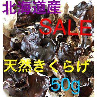 北海道産 天然きくらげ 50g(野菜)