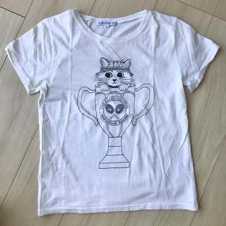 エディットフォールル(EDIT.FOR LULU)のEDIT.FOR LULU 猫柄Tシャツ(Tシャツ(半袖/袖なし))