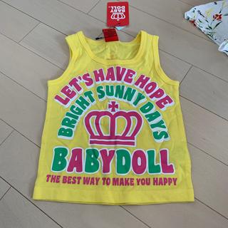 ベビードール(BABYDOLL)の新品 80 タンクトップ ベビードール ベビド(Tシャツ/カットソー)