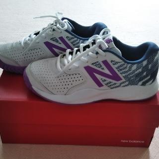 ニューバランス(New Balance)のニューバランス テニスシューズ 23.5(シューズ)