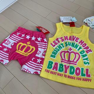 ベビードール(BABYDOLL)のベビードール 新品 パンツ スエット 半ズボン(パンツ)