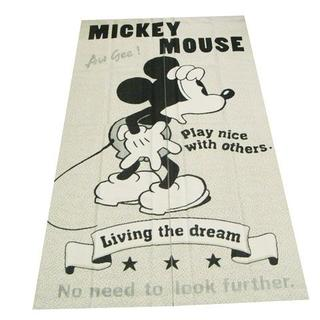 ディズニー(Disney)の送料無料【 新品】 日本製 のれん 【 ジャガードミッキー 85㎝ × 150㎝(のれん)
