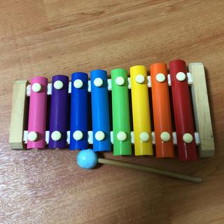 可愛いおもちゃの木琴 音色も音階になってます☆(その他)