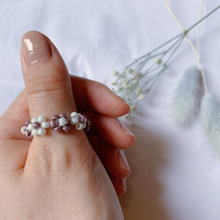 ディーホリック(dholic)のリング 指輪 韓国 비즈반지 No.32(リング)