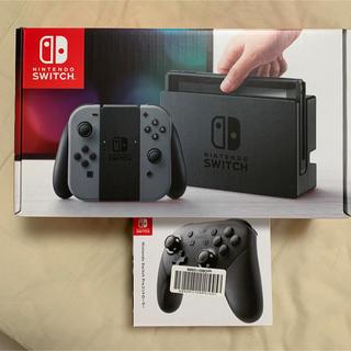 ニンテンドースイッチ(Nintendo Switch)のはなはな様専用 Nintendo Switch + プロコントローラー(家庭用ゲーム機本体)